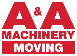 AA Machinery Moving Logo