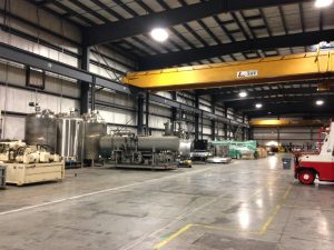 A&A warehousing overhead cranes available