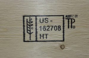 ISPM 15 Certified stamp
