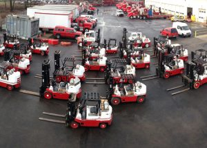 It's 'wash day'.  Some of our rolling stock lined up for routine washing and cleaning