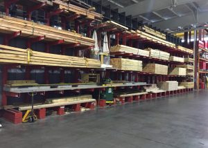 Lumber inventory for crating, packaging and skidding including ISPM 15 heat-treated and fumigate lumber for export packaging