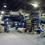 Turn-key relocation of three vinyl flooring manufacturing lines and associated support and plant equipment.