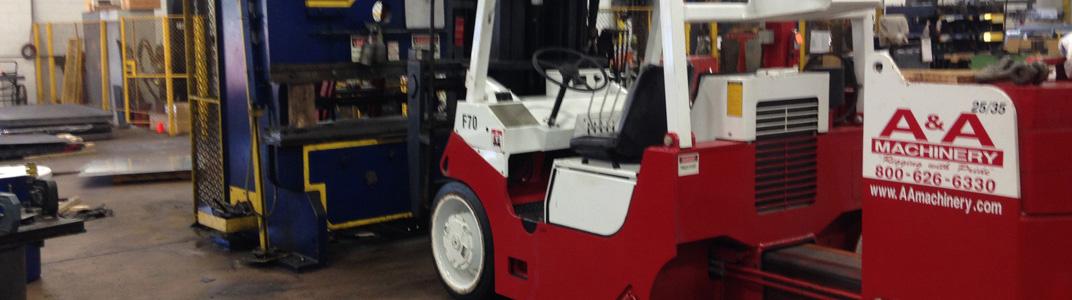 Versa-Lift Forklift Rentals | A&A Machinery