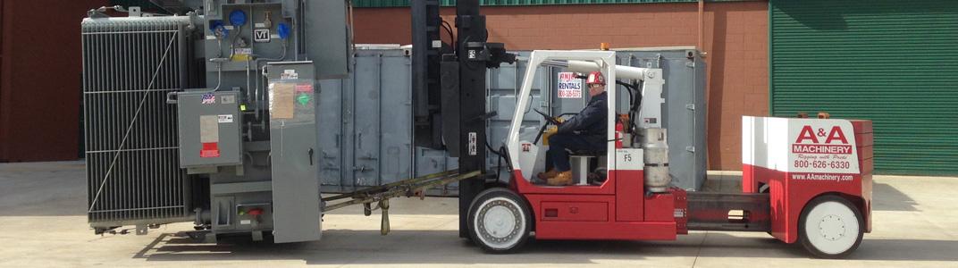 Versa-Lift Forklift Rentals   A&A Machinery