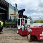 GVMA Compressor removal by A&A Machinery Moving