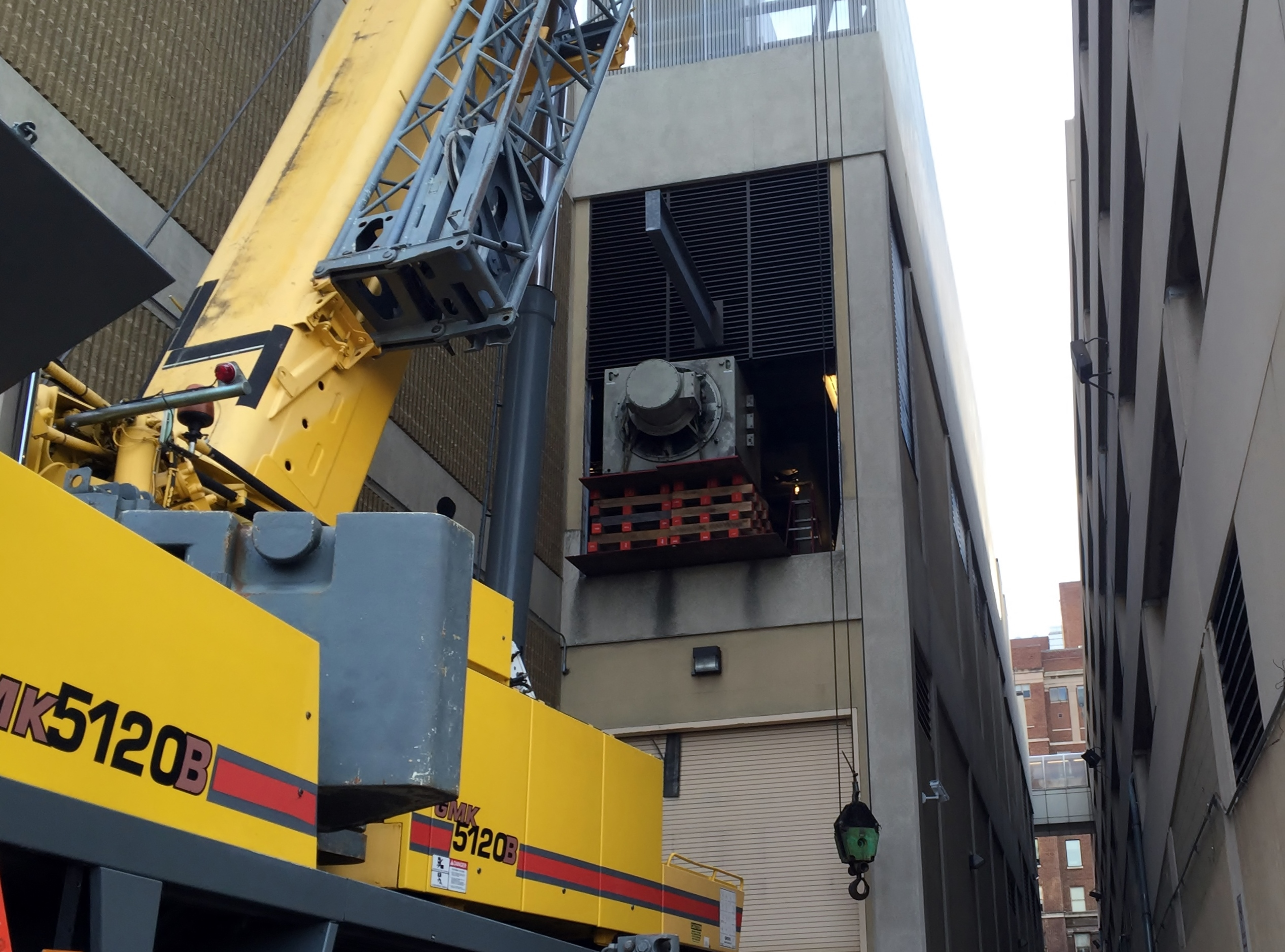 Removal of generator