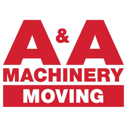 A&A machinery moving logo