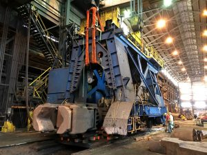 Disassembling 150T Manipulator at heavy industrial forging operation