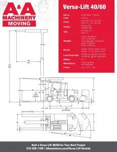 Versa-Lift 4060_Specs Sheet