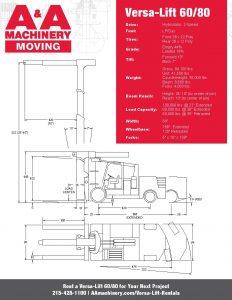 Versa-Lift 6080_Specs Sheet