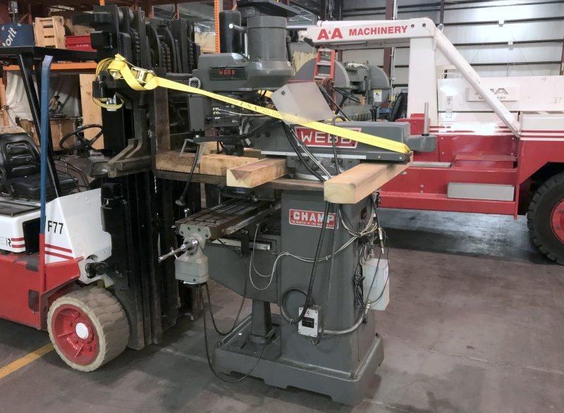 Moving Vertical Milling Machine